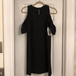 Design Lab by Lord & Taylor cold shoulder dress.